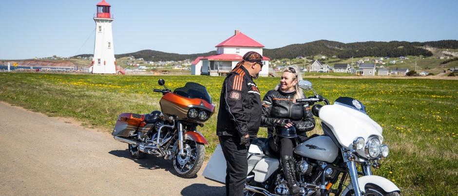 Pourquoi les motocyclistes aiment-ils les régions du Québec maritime?