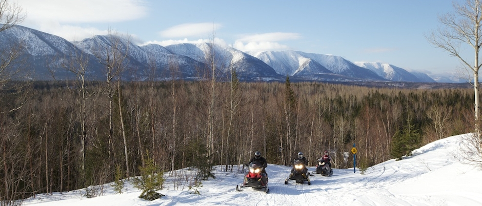 Interview with a Snowmobiler: Brent Richardson about Gaspésie