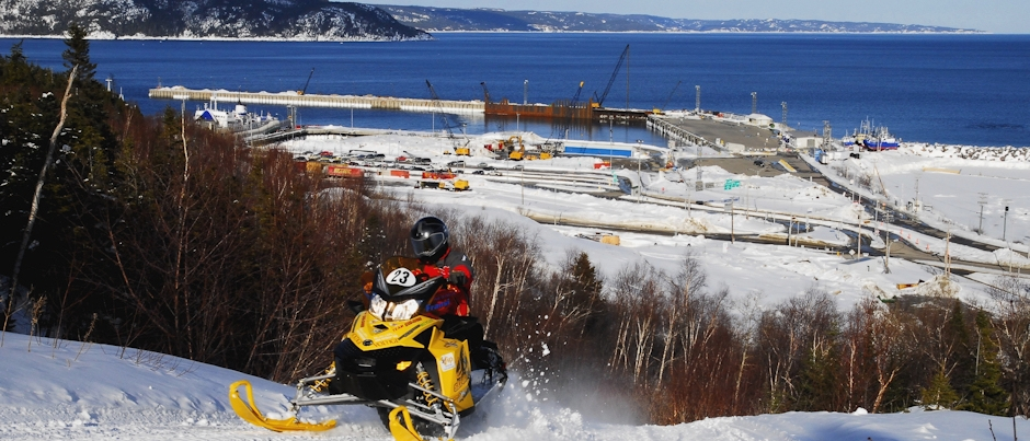 Interview with a Snowmobiler: Serge Charrette on Côte-Nord