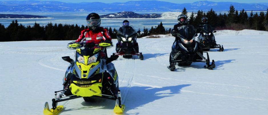 Snowmobiling in Bas-Saint-Laurent: Superb Scenery to Admire