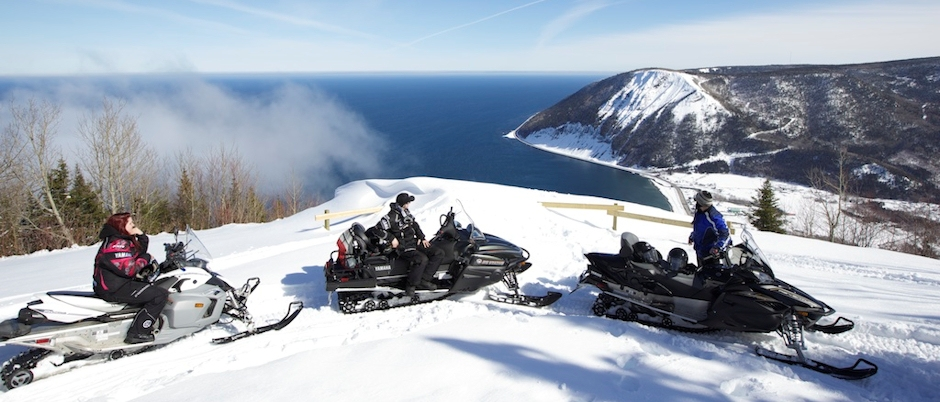 Planning a Snowmobile Trip in Gaspésie