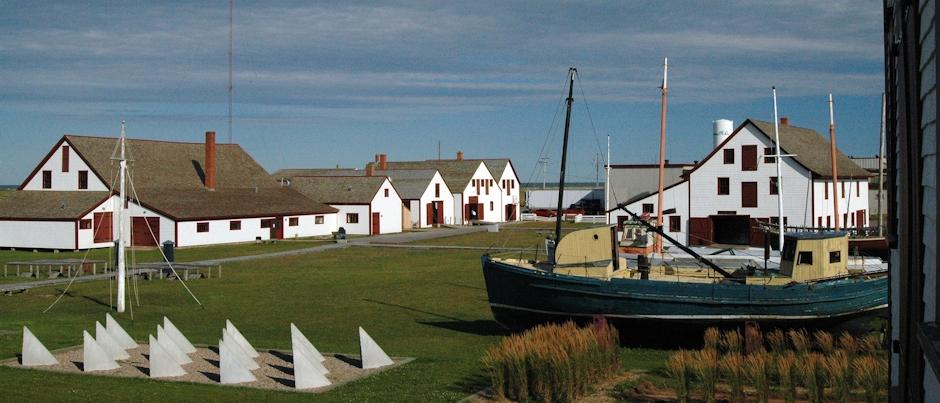 In the Footsteps of Cod Fishermen at the Banc-de-Pêche-de-Paspébiac Historic Site