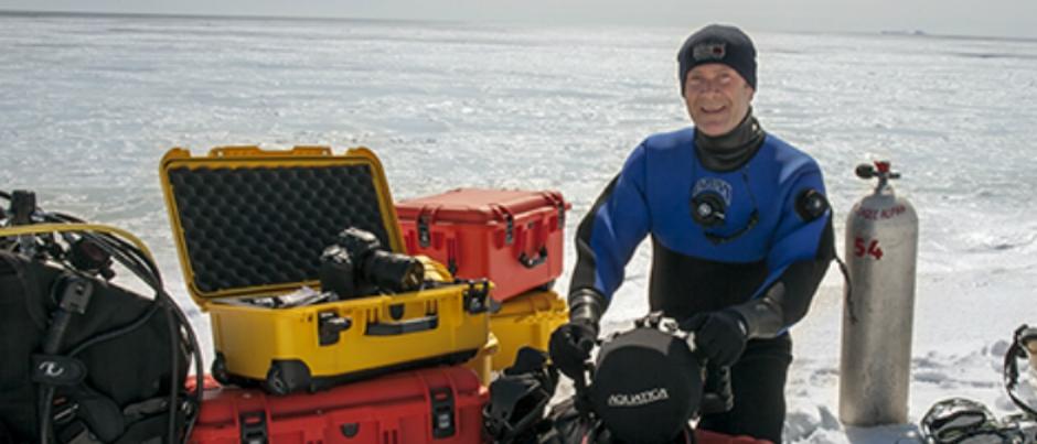 Les Îles de la Madeleine sous la lentille de Mario Cyr, cinéaste des profondeurs océaniques