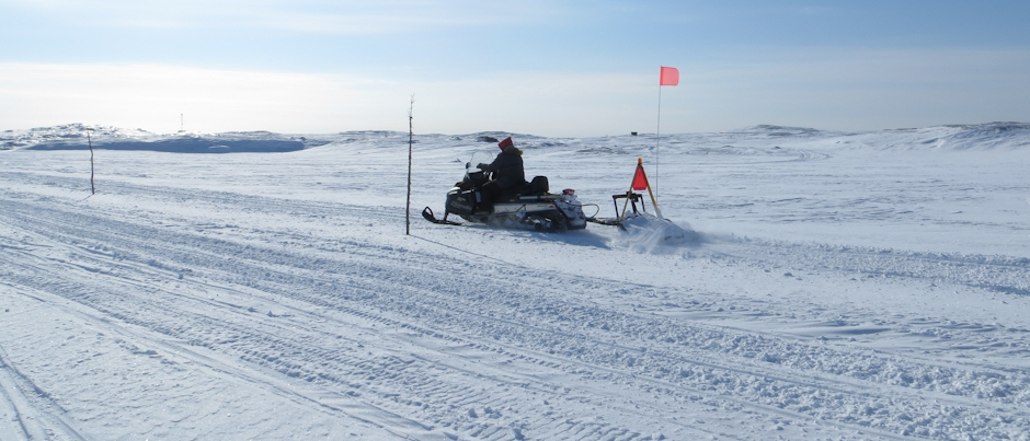 My Latest Snowmobile Trip on Québec's Lower North Shore