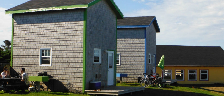 What Unusual Accommodations Are Offered in the Îles de la Madeleine?