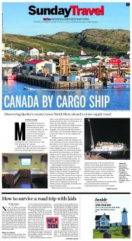 Canada by cargo ship