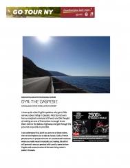 DYR : The Gaspésie
