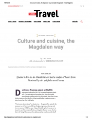 Culture and cuisine, the Magdalen way