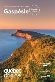 Gaspésie Official Tourist Guide