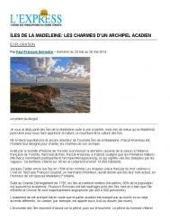 Îles de la Madeleine : les charmes d'un archipel acadien