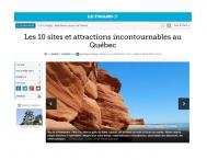 Les 10 sites et attractions touristiques incontournables au Québec