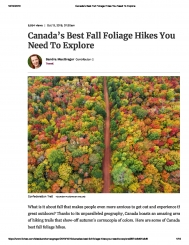 Canada's Best Fall Foliage Hikes You Ned To Explore