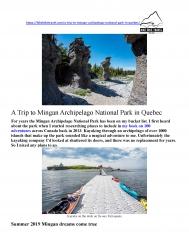 A Trip to Mingan Archipelago National Park in Quebec