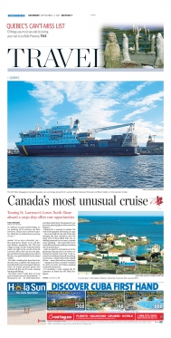 Canada's most unusual cruise