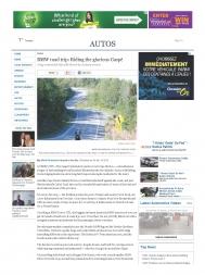 BMW Road trip : Riding the glorious Gaspé