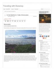 On the Waterfront: A Taste of Kamouraska