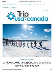 La Traversée de la Gaspésie, un expérience sportive ... mais pas que!