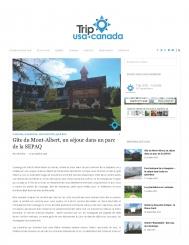 Gîte du Mont-Albert, un séjour dans le parc de la SEPAQ
