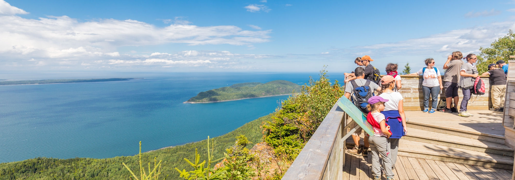 Hiking and trekking in canada eastern quebec for Hotel parc du bic