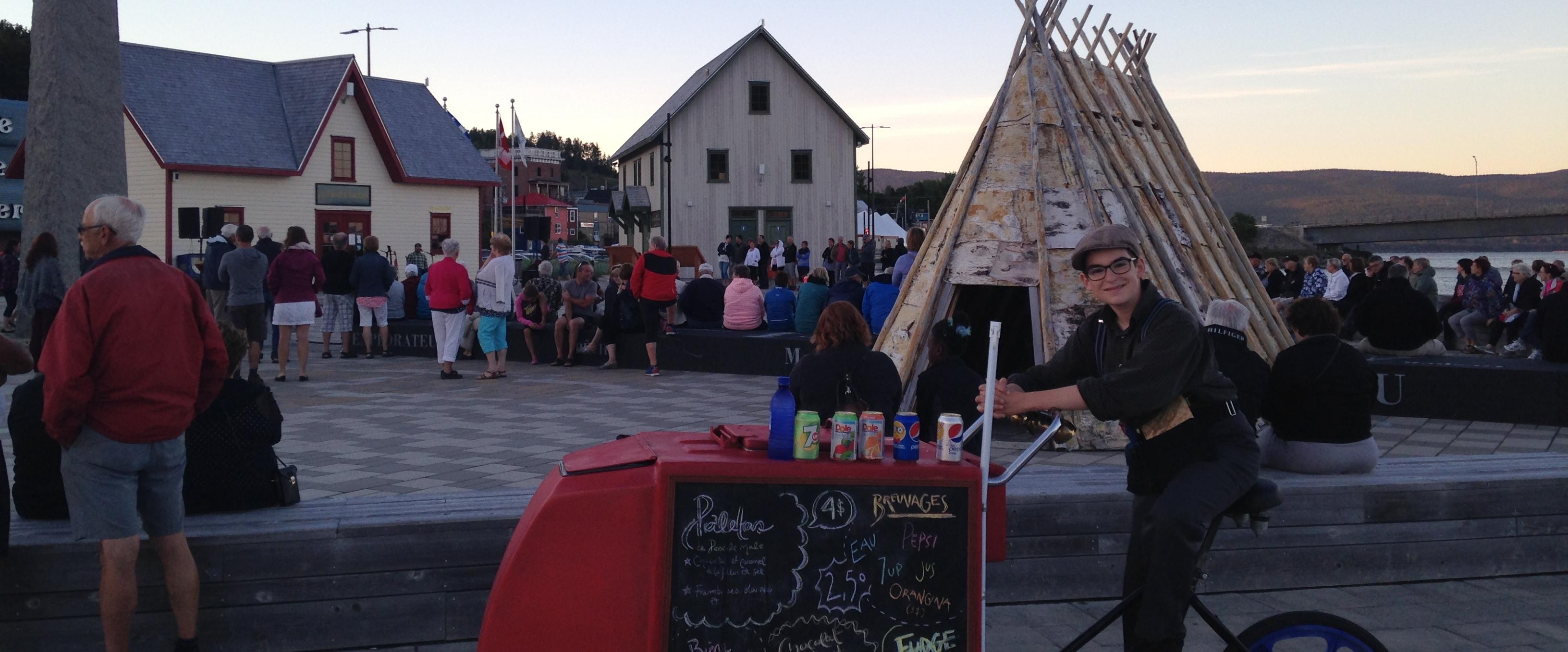Berceau du canada activit s qu bec maritime for Auberge maison wakeham