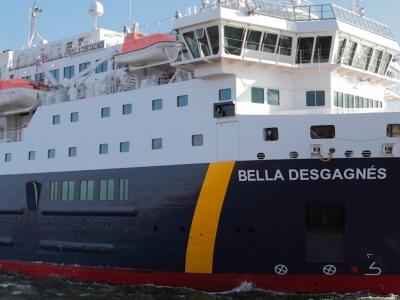 Round Trip from Natashquan to Blanc-Sablon on the MV Bella Desgagnés