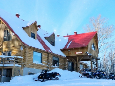 Domaine Valga Snowmobile Package