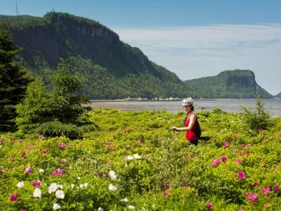 Forfaits parc national du bic accueil qu bec maritime for Hebergement parc du bic