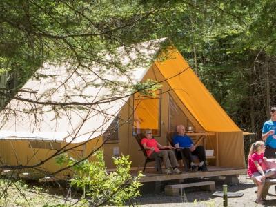 "Traditional ""Ready-to-Camp"" Package (Parc national de la Gaspésie)"
