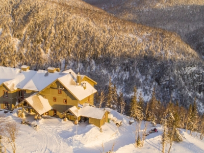 Séjour à la montagne en hiver