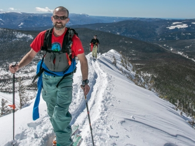 Guided Backcountry Skiing