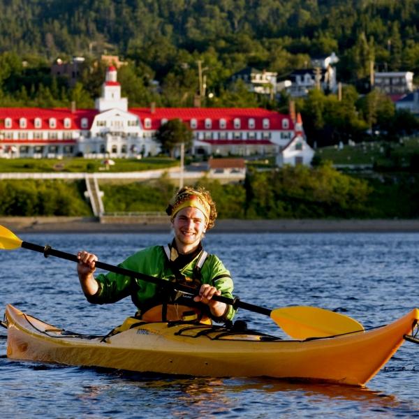 Carte Bleue Kayak.Kayak Canada Kayak De Mer Quebec Quelle Experience