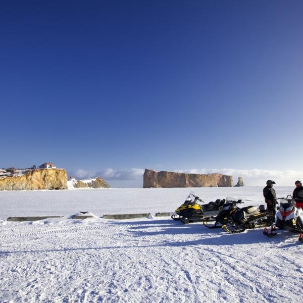 Great Road Trip Ideas: Bas-Saint-Laurent – Gaspésie Snowmobile Tour