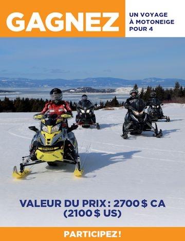 Concours motoneige