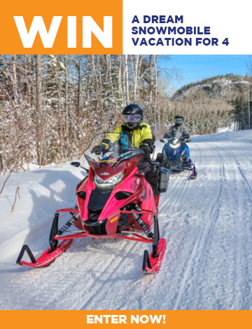 Snowmobiling contest